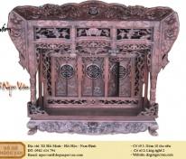 Khám thờ gỗ gụ